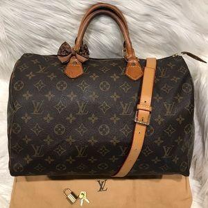 Authentic Louis Vuitton Speedy 35 #6.4B